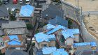 Landslides feared in quake-hit areas of western Japan as heavy rain forecast