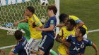 In Photos: Japan beats 10-man Colombia to make winning start at World Cup