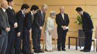 Japan PM vows to resolve abduction by holding talks with Kim
