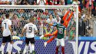 Soccer: Mexico beats defending champion Germany 1-0 at World Cup