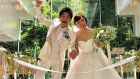 Yoshiki Risa & Wada Masato hold a wedding reception