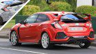 2019 Honda Civic Type R Facelift Spied With New Bumpers And Both Small And Large Rear Wing
