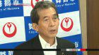 Mayor recovers after collapsing in sumo ring