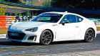 Badgeless Subaru BRZ Prototype With Aero Updates Spotted At The 'Ring