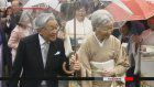 Imperial couple hosts final garden party