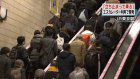 Escalator safety campaign starts at Tokyo Station