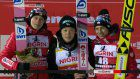 Kobayashi gets 6th straight World Cup ski jump win