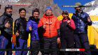 Miura reaches 6,000 meters on Aconcagua