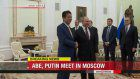 Abe, Putin meeting in Moscow
