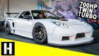 Classic Acura NSX Time Attack Racer Has 700 HP And Is Street Legal