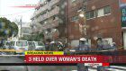 3 men arrested for killing 80-year-old woman