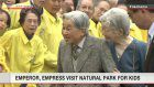 Emperor, Empress visit nature park for kids