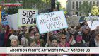 Abortion rights campaigns across the US