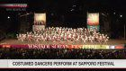 Dancers compete on final day of Sapporo festival