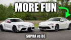 2020 Toyota Supra Is Great But The 86 TRD Brings The Driver More Joy