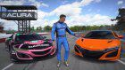 2019 Acura NSX Faces Off Against GT3 EVO Race Car
