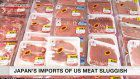 Japan's imports of US meat sluggish