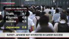 Survey: Japanese not interested in career success