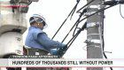 Hundreds of thousands still without power