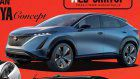 Nissan Ariya Concept Previews Rogue-Sized Electric SUV For America And Beyond