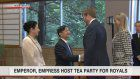 Emperor, Empress hold tea party for royals