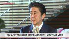 Abe to meet VIPs attending enthronement functions
