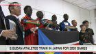 S.Sudan athletes train in Japan ahead of Games