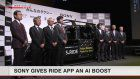 Sony-led venture boosts taxi app