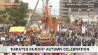 Karatsu Kunchi autumn festival reaches peak