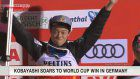 Kobayashi wins Ski Jumping World Cup in Germany