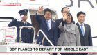 Abe heads for 3 Middle East nations