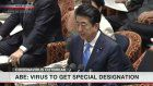 Abe to designate coronavirus illness as infectious