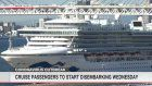 Diamond Princess disembarkation to start Wednesday