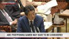 Abe: Decision on Tokyo Games may be needed