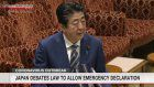 Abe to note impact on rights if emergency declared