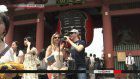 Foreign visitors to Japan down 93% in March