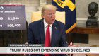 Trump: Virus guidelines will be 'fading out'