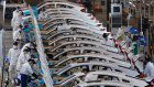 Honda's Wuhan, China, plant back up, with coronavirus precautions