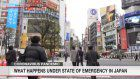 What happens under state of emergency in Japan