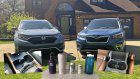 Cupholder test: Subaru Forester vs. Honda CR-V