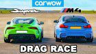 Tuned 2020 Toyota Supra Picks A Fight With Stock BMW M4, Let The Games Begin