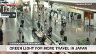 Travelers returning to airports, train stations