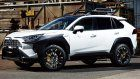 Toyota RAV4 Amped Up With New Arches And Rays Wheels