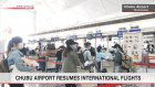 Airport in central Japan resumes intl. flights