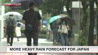 Heavy rain expected in eastern, western Japan
