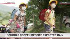 Schools reopen in flood-hit area in southern Japan