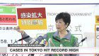 Tokyo confirms new daily record of 367 cases