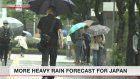 Torrential rain likely for eastern, western Japan