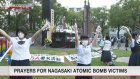 Prayers for Nagasaki atomic bomb victims