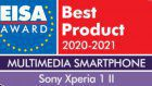 Xperia 1 II wins EISA 2020 award for multimedia smartphone of the year